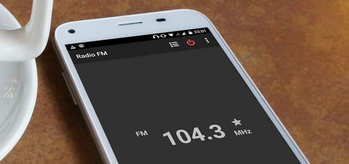 Ecouter la radio sans connexion internet grâce au récepteur FM du mobile