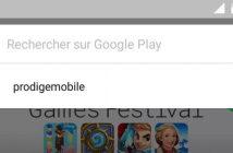 Effacer l'historique des recherches sur le Google Play Store