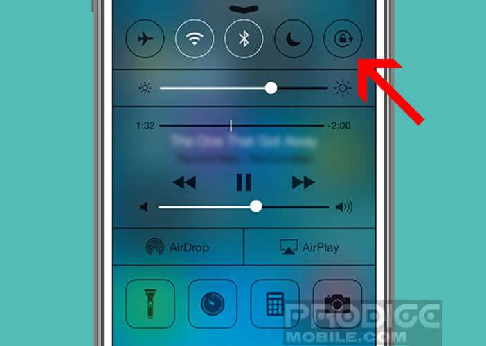 Activer la fonction de verrouillage d'écran sur l'iPhone
