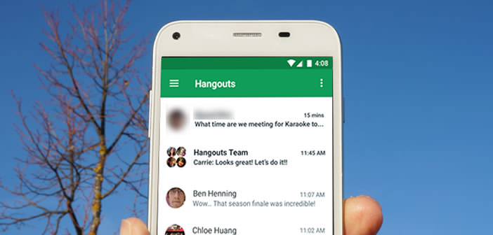 comment effectuer un appel visio depuis un mobile android