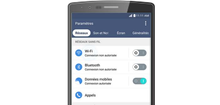 Augmenter l'autonomie du LG G4