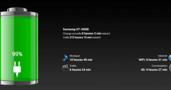 Optimiser l'autonomie de votre Android avec Battery HD
