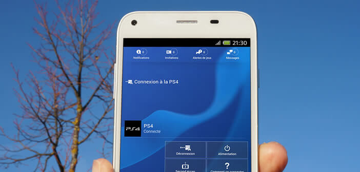 contr ler votre ps4 distance avec l 39 appli playstation app. Black Bedroom Furniture Sets. Home Design Ideas