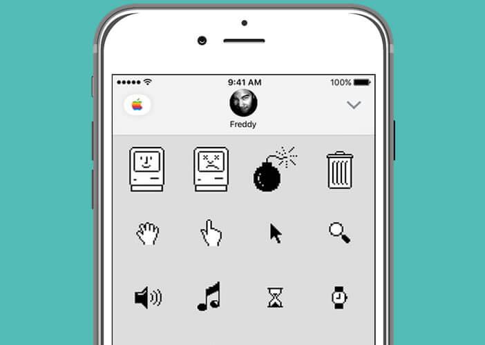 Emoticônes Classic Mac pour iOs