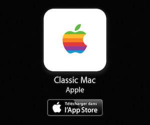 Les icônes et emojis vieux Mac Apple