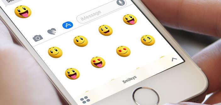 Pack de nouveaux emojis à installer sur l'iPhone
