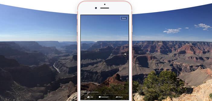 Ajouter des photos 360° sur son compte Facebook