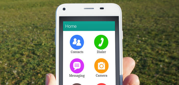 Simplifier l'interface d'un smartphone Android avec un launcher