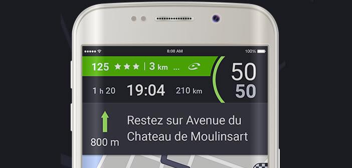 Sélection d'applications d'aide à la conduite pour mobile Android