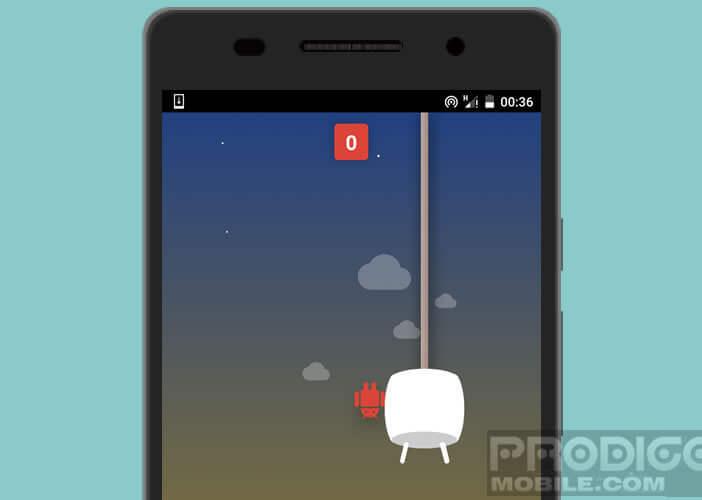 Android Marschmallow intègre un clone de Flappy Bird