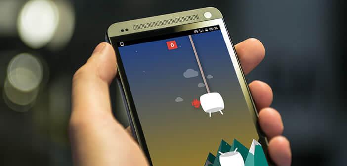 Flappy Bird le jeu caché d'Android Marshmallow