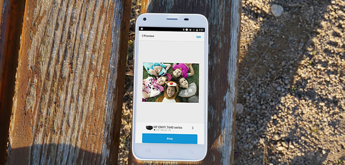 Imprimer depuis Android sur une imprimante Wi-Fi