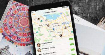 Localiser ses amis via le système de géolocalisation de l'iPhone