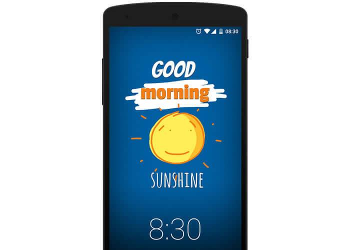 Application de messagerie LokLok pour smartphone Android