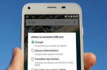 Comment changer le mode de connexion USB sur Android
