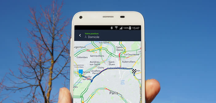 Application Nokia Here WeGo pour les mobiles Android