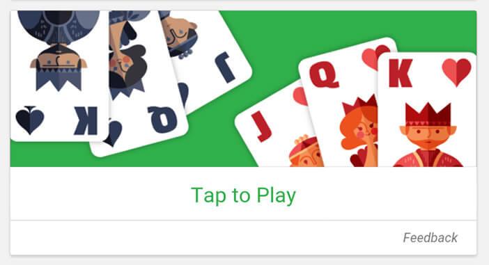 Solitaire jeu de cartes populaire sur Android