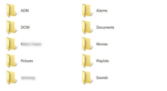 Transférer vers un PC les photos contenues dans le répertoire DCIM