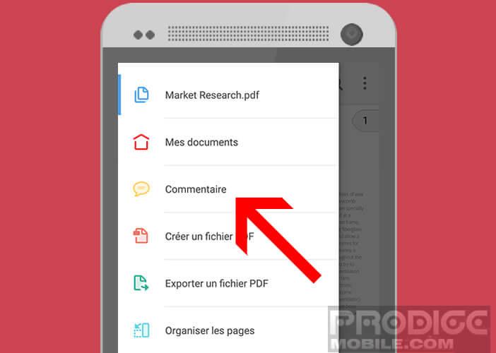 Annoter et ajouter des commentaires à un document PDF