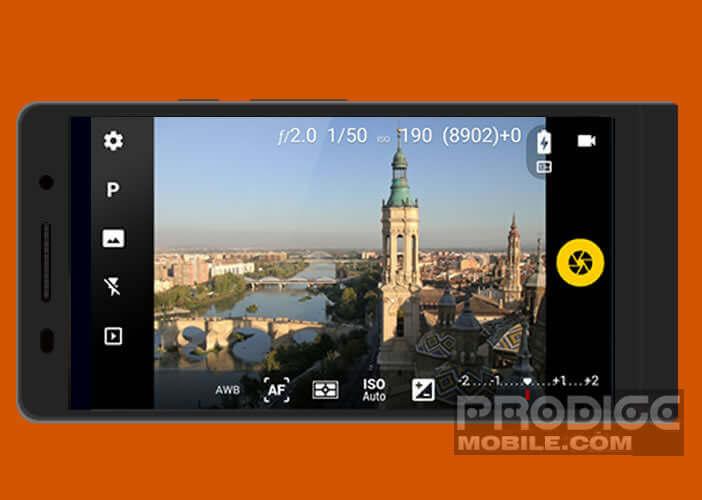 Améliorer l'application photo native sur un téléphone