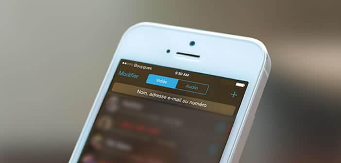 Evaluer la consommation de data de FaceTime sur iPhone