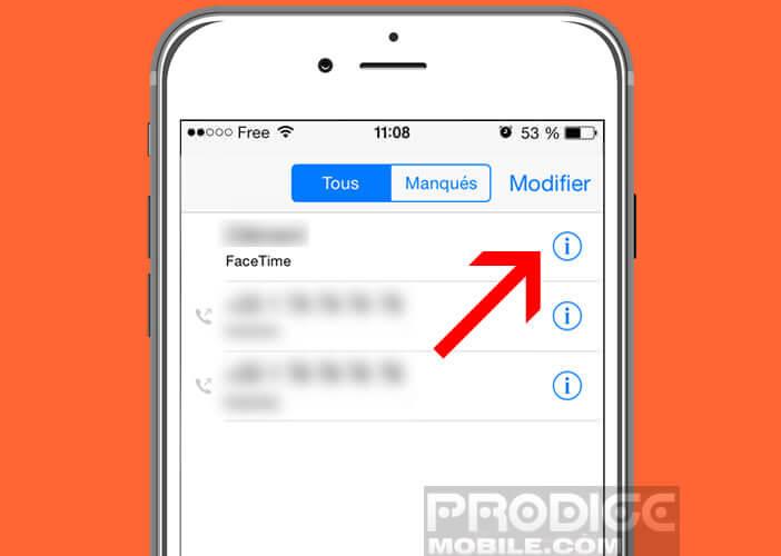 Les conversations FaceTime gourmandes en données sur l'iPhone