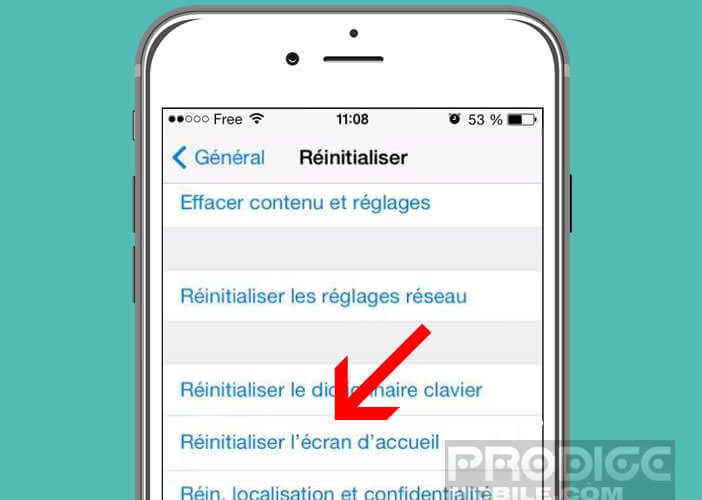 Réinitialiser l'agencement de l'écran d'accueil de votre smartphone Android