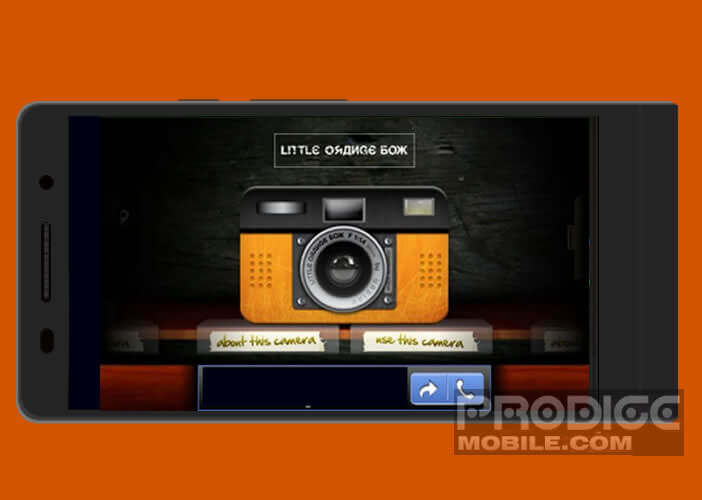 L'application Retro Camera pour faire des photos vintage sur un mobile