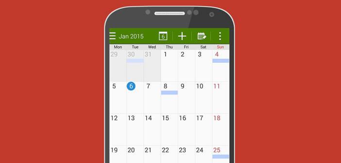 Synchroniser l'agenda de S Planner avec un ordinateur ou une tablette