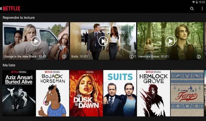Le service de streaming de Netflix est le plus connu