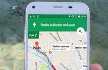 Comment trouver une station service ouverte sur Google Maps