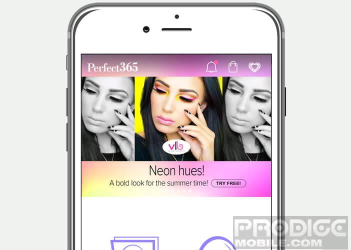 Perfect365 est une application de relooking pour les mobiles Apple