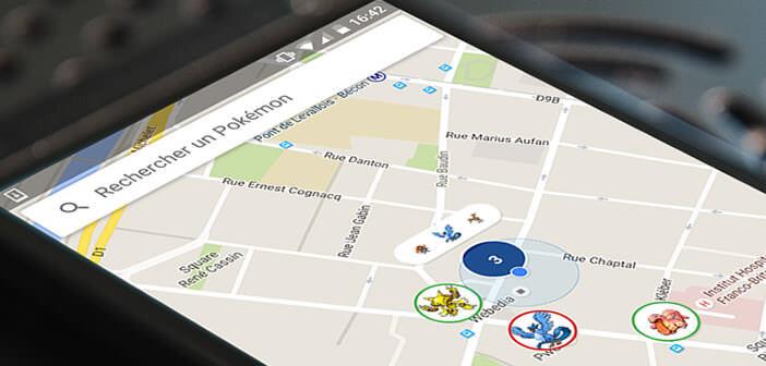 Chasse et capturer facilement un Pokémon avec Go Map