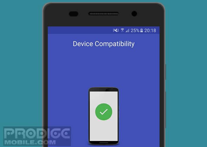Vérifier si votre mobile est compatible avec FingerSecurity
