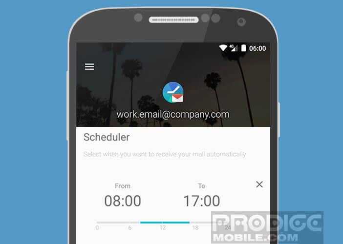 Définir un créneau d'horaire pour l'affichage des notifications push
