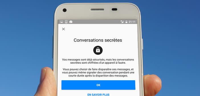 Crypter les messages envoyés depuis Facebook Messenger