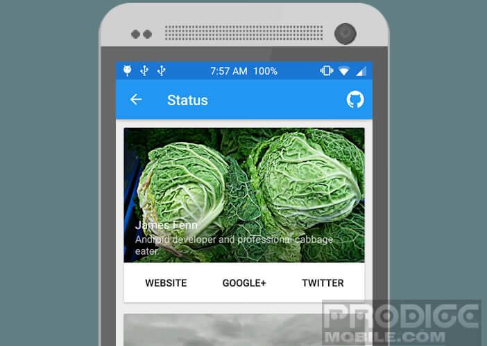 Customiser la barre de statuts d'Android en fonction de vous goûts