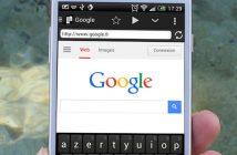 Faire défiler automatiquement une page web sur Android