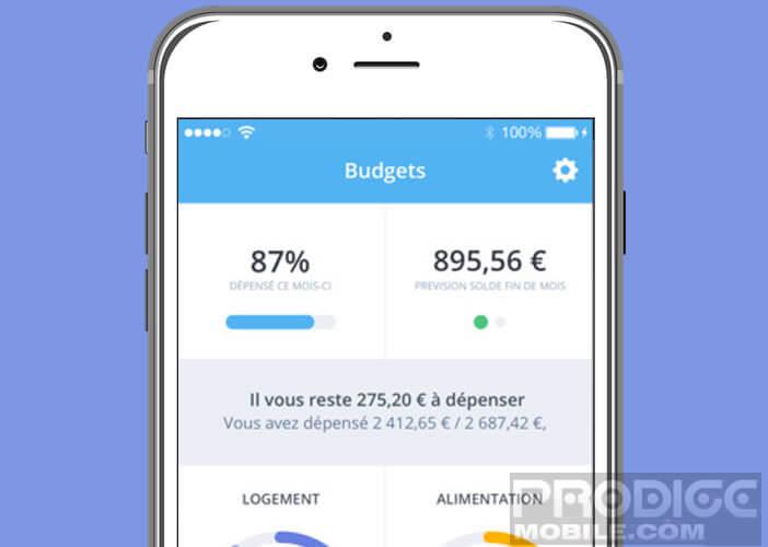 Etablir le budget familial et surveiller ses finances avec Bankin