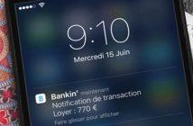 Gérer son budget avec l'application Bankin pour iPhone