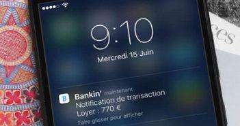 Surveiller et gérer votre budget depuis votre iPhone avec l'appli Bankin