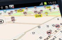 Système de navigation GPS Android pour les poids-lourds