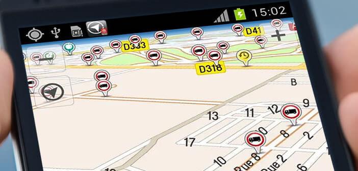 Applications GPS Android dédié aux poids-lourds
