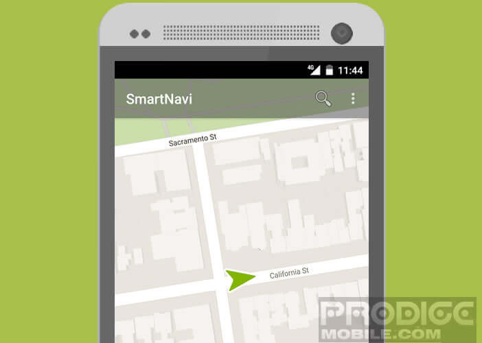 Une application Android gratuite pour les déplacements à pied