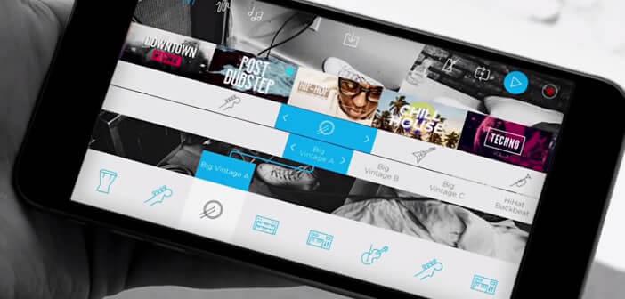 Composer votre musique sur un mobile Android