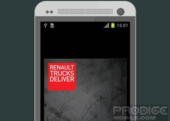 Système de navigation pour camion NavTruck de Renault Trucks
