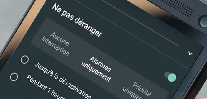 Activer l'option Ne pas déranger dans Android Nougat 7