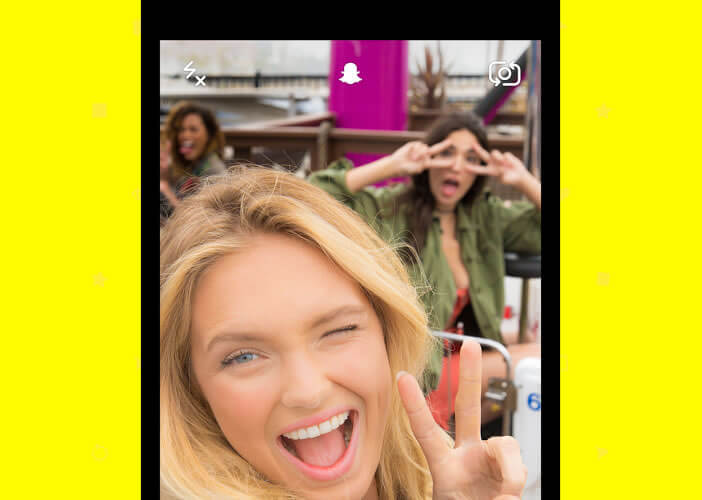 Créer des selfies animés avec Snapchat