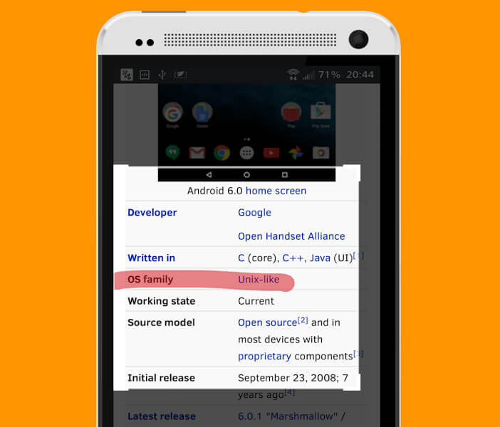 Surligner un texte sur n'importe quelle application Android