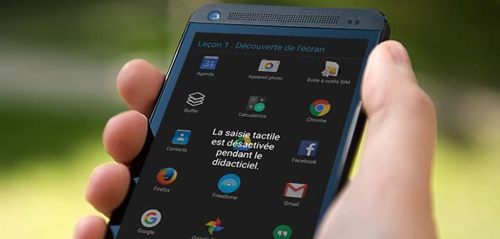 TalkBack est une application pour aider les malvoyants à se servir de leur mobile